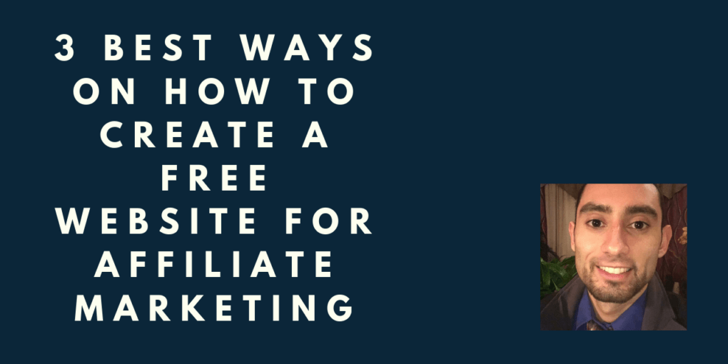 creating a free affiliate marketing website