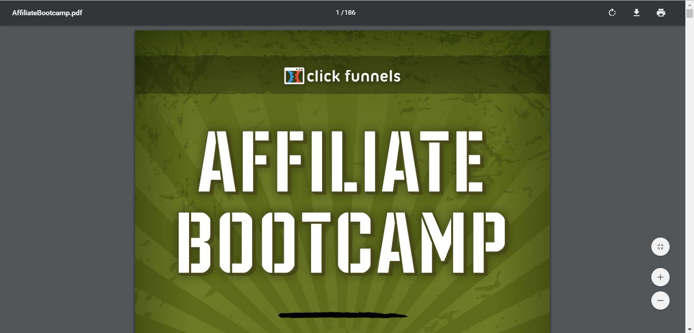 affiliate bootcamp videos by russell brunson ebook