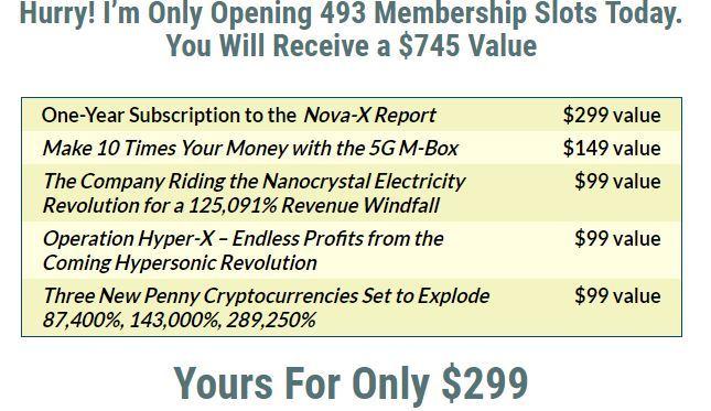 nova x membership cost