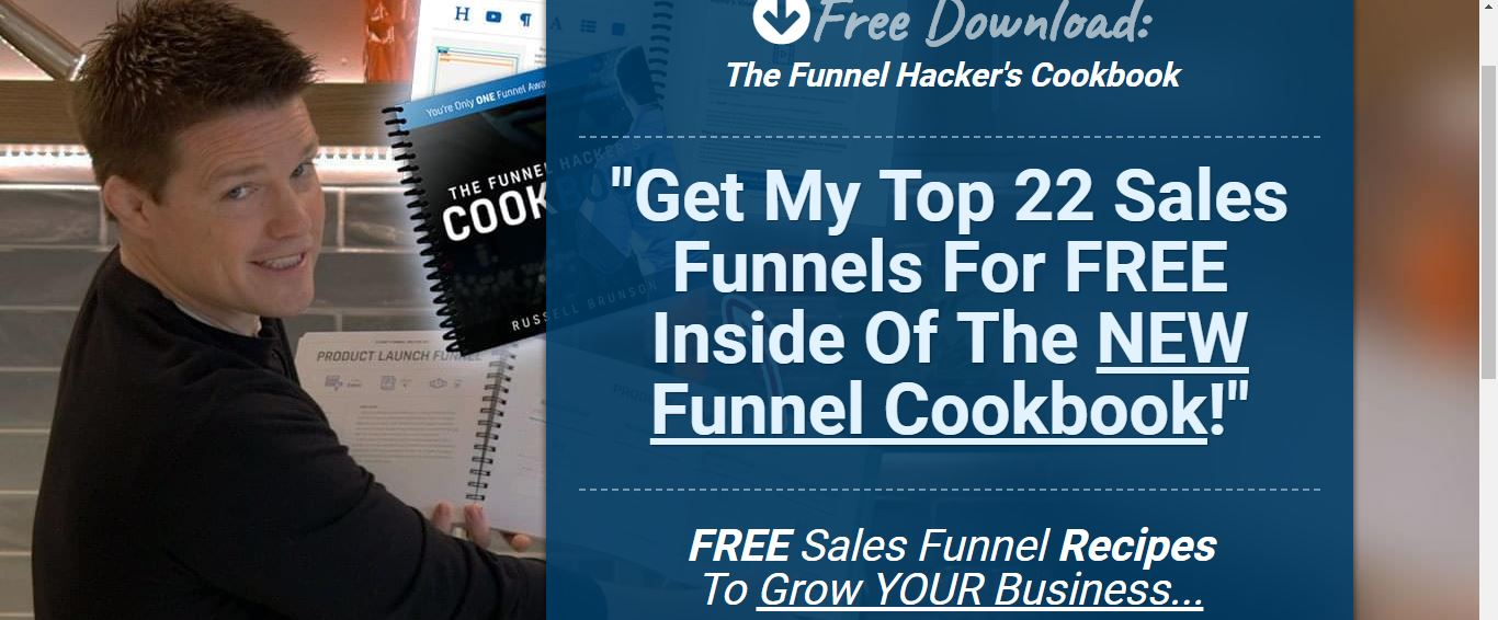 clickfunnels 22 free sales funnel templates