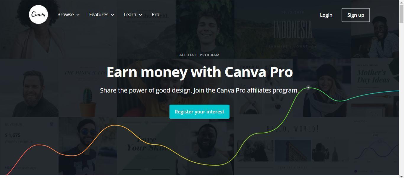 pre-registration for canvas affiliate program
