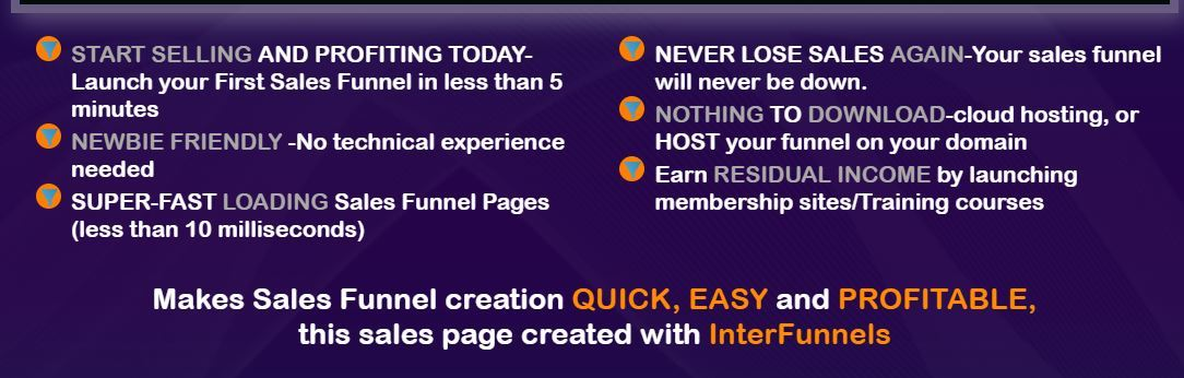 interfunnels benefits