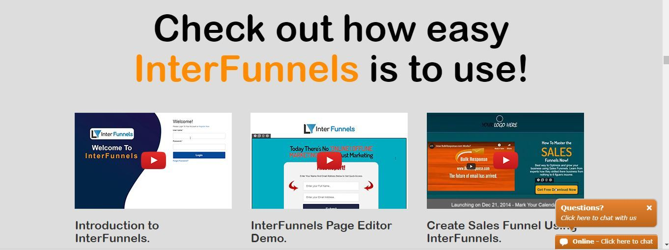 interfunnels training