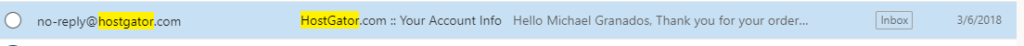 hostgator cpanel login details