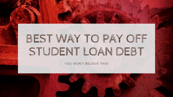 paying off your student loan debt