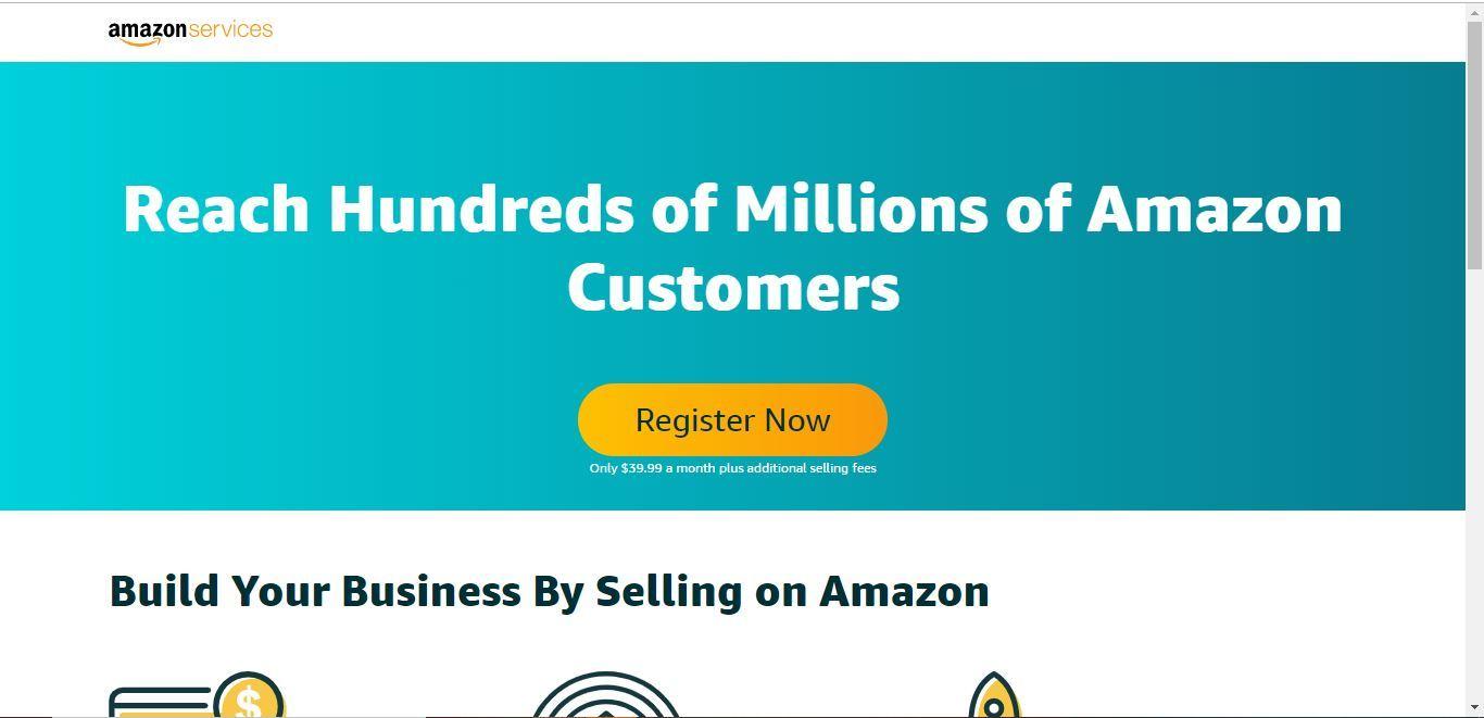 amazon seller account setup
