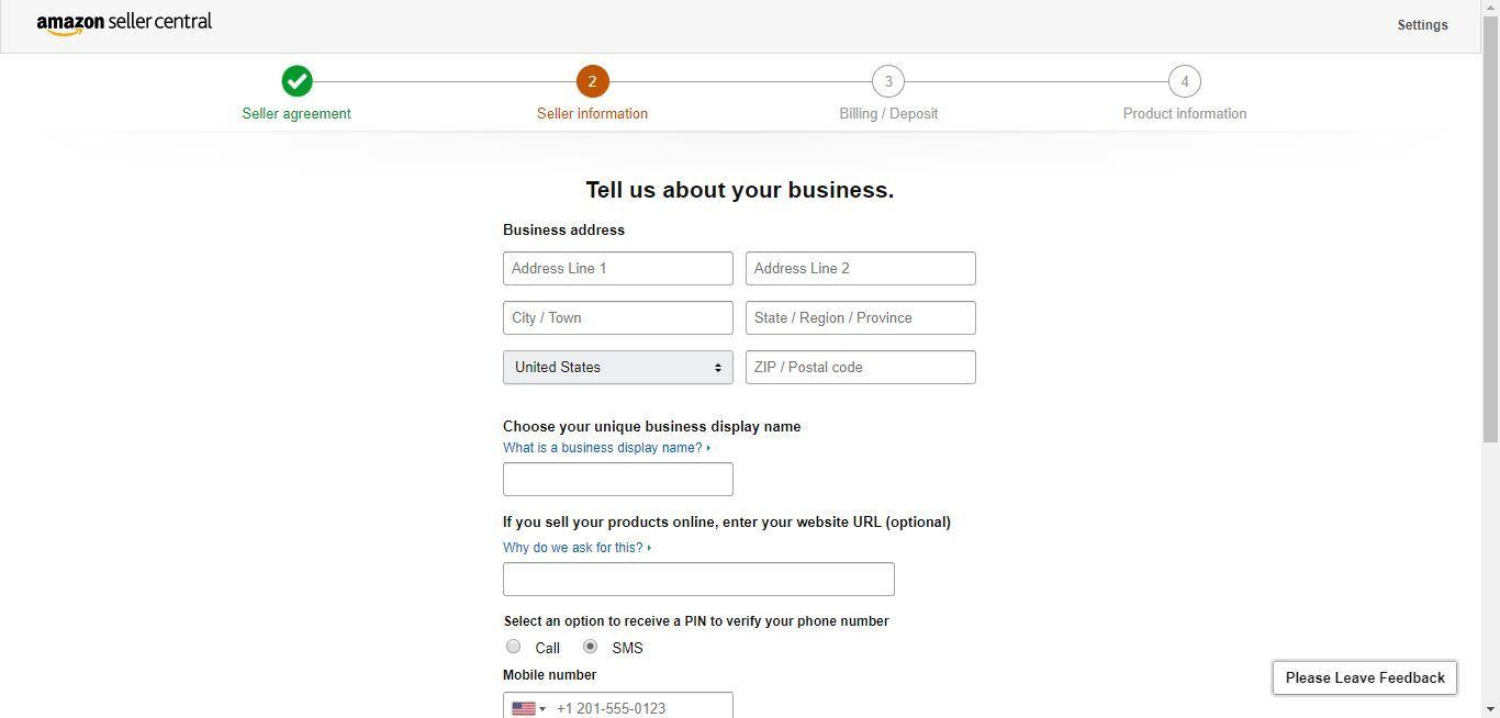 amazon seller details