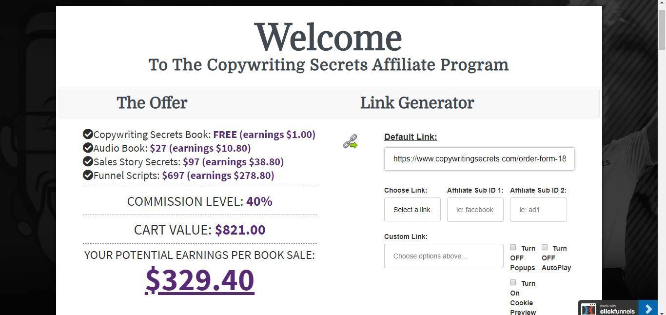 copywriting secrets from clickfunnels