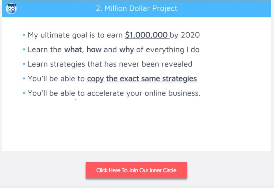 my online startup inner circle