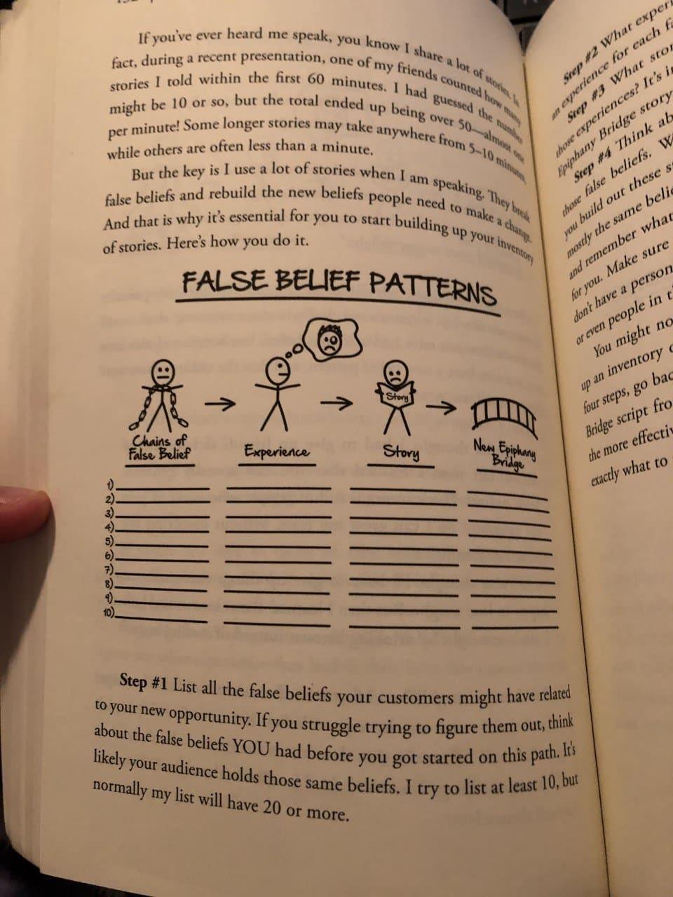 expert secrets breaking false belief patters
