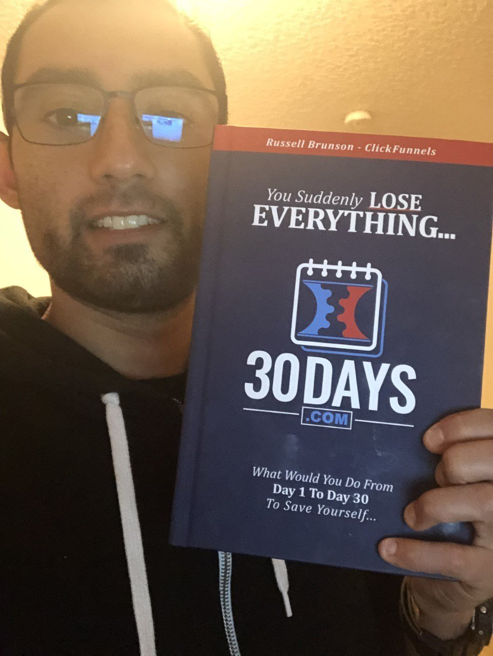 30 days summit book from clickfunnels