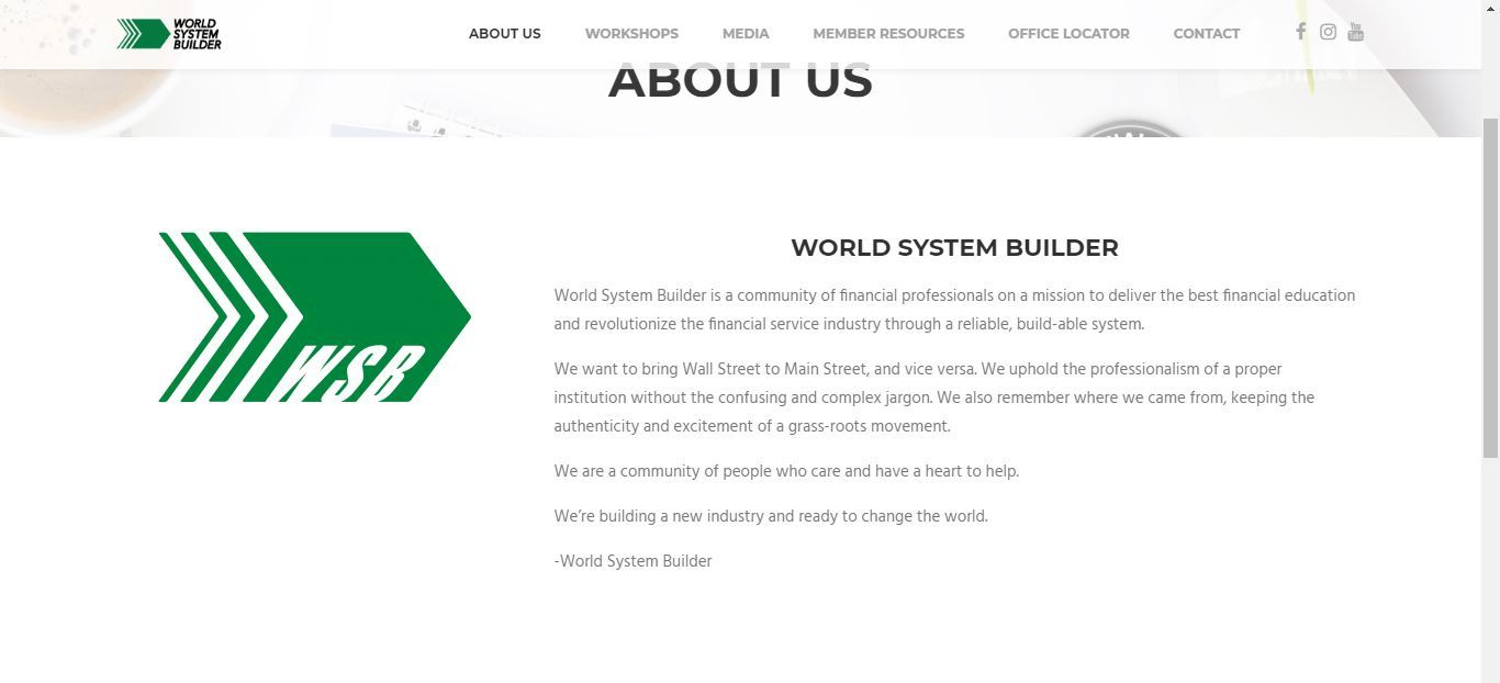 world system builder about us