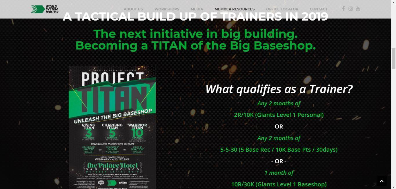world system builder project titan