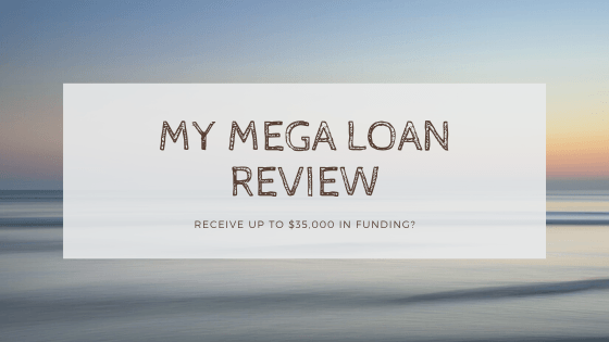 My mega loan page