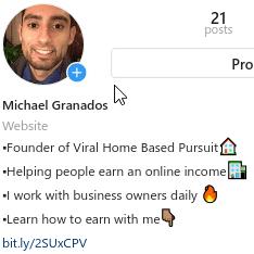 quality Instagram Bio