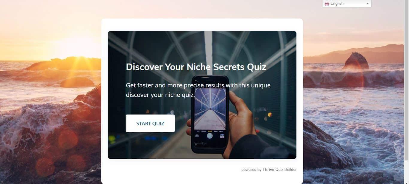 quiz start