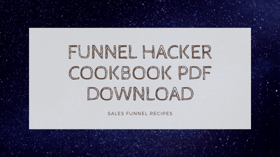 funnel cookbook