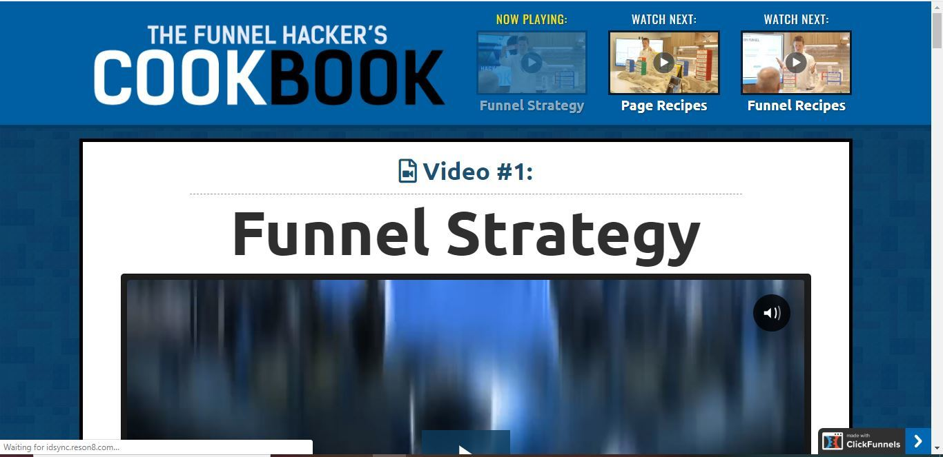 the funnel hacker cookbook