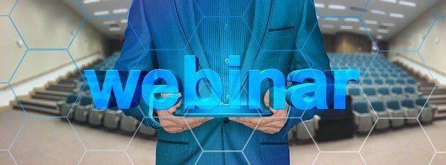 what is a webinar training