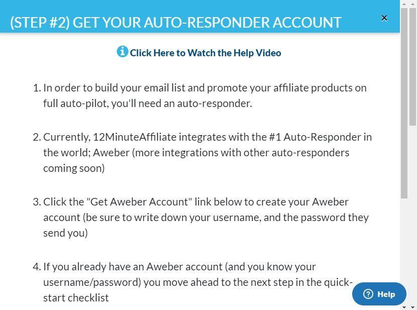 12 minute affiliate autoresponder