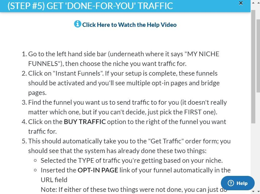 12 minute affiliate done for you traffic