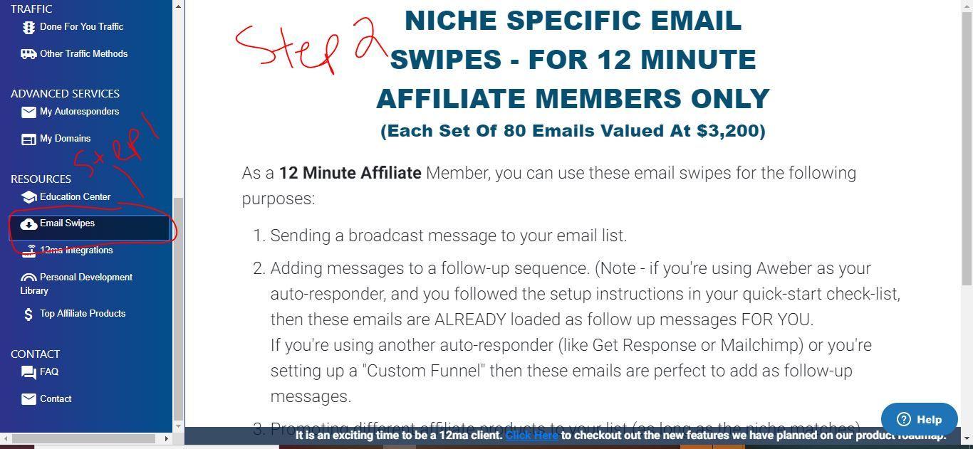 12 minute affiliate emails