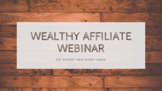 wealthy affiliate webinars