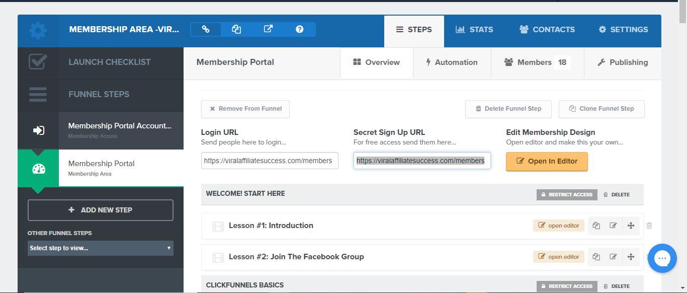 cf membership features 1