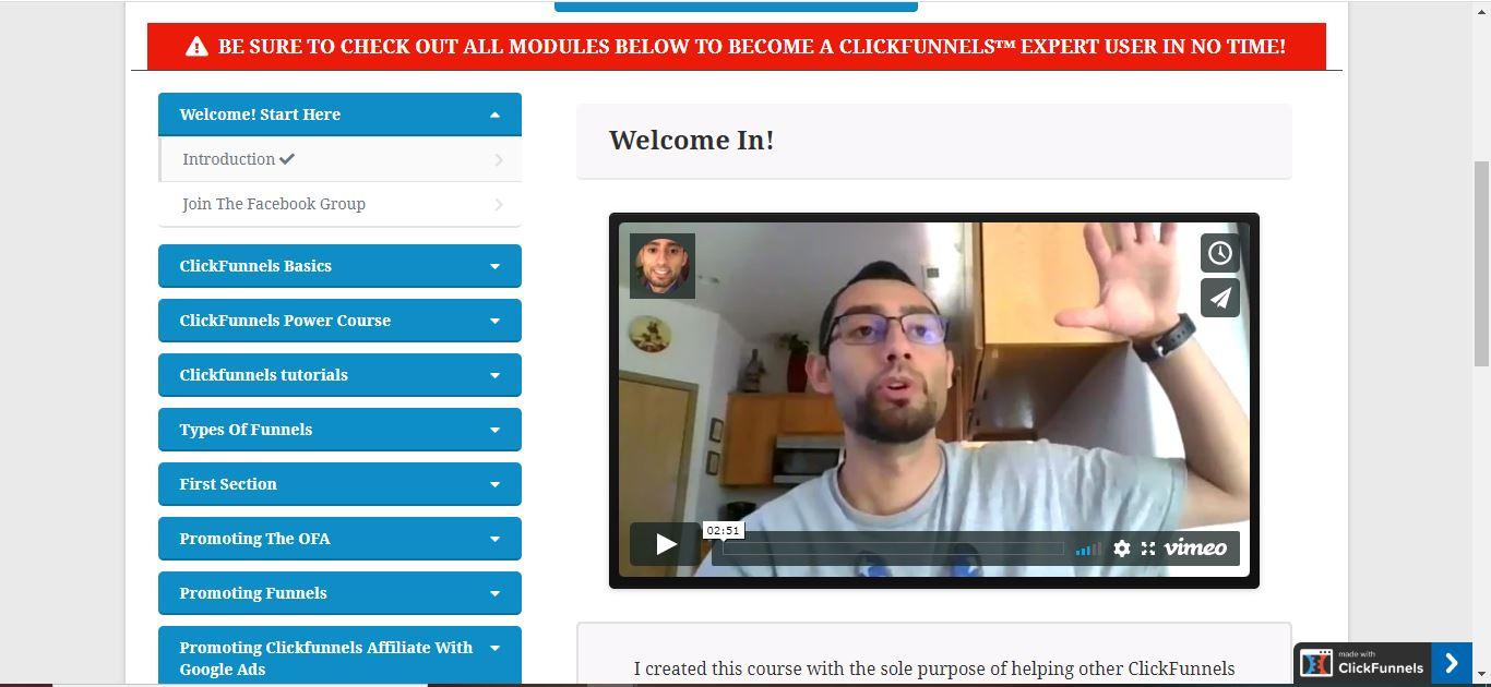 clickfunnels member