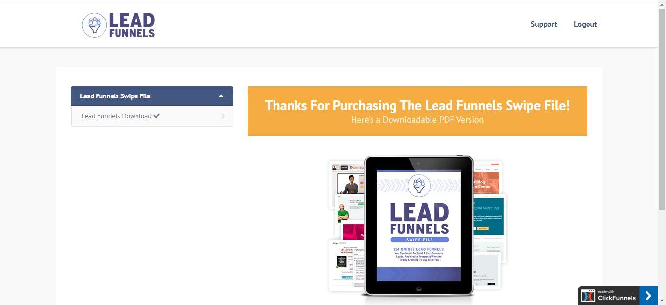 clickfunnels membership funnel for lead funnels
