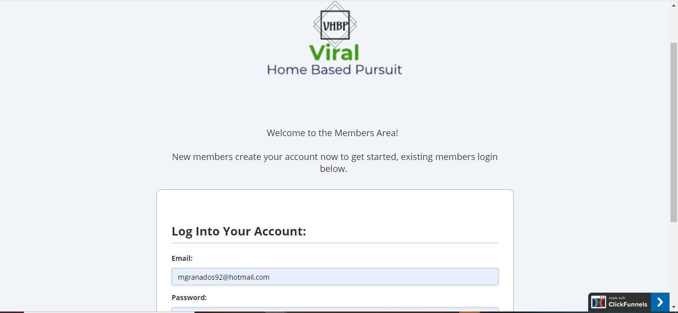 clickfunnels membership login