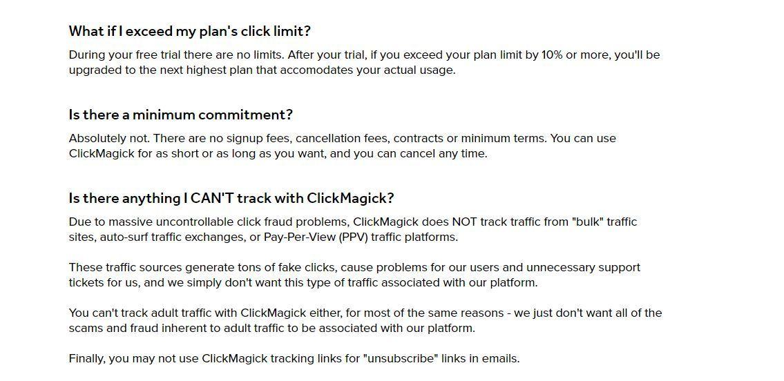 clickmagick plan coverage