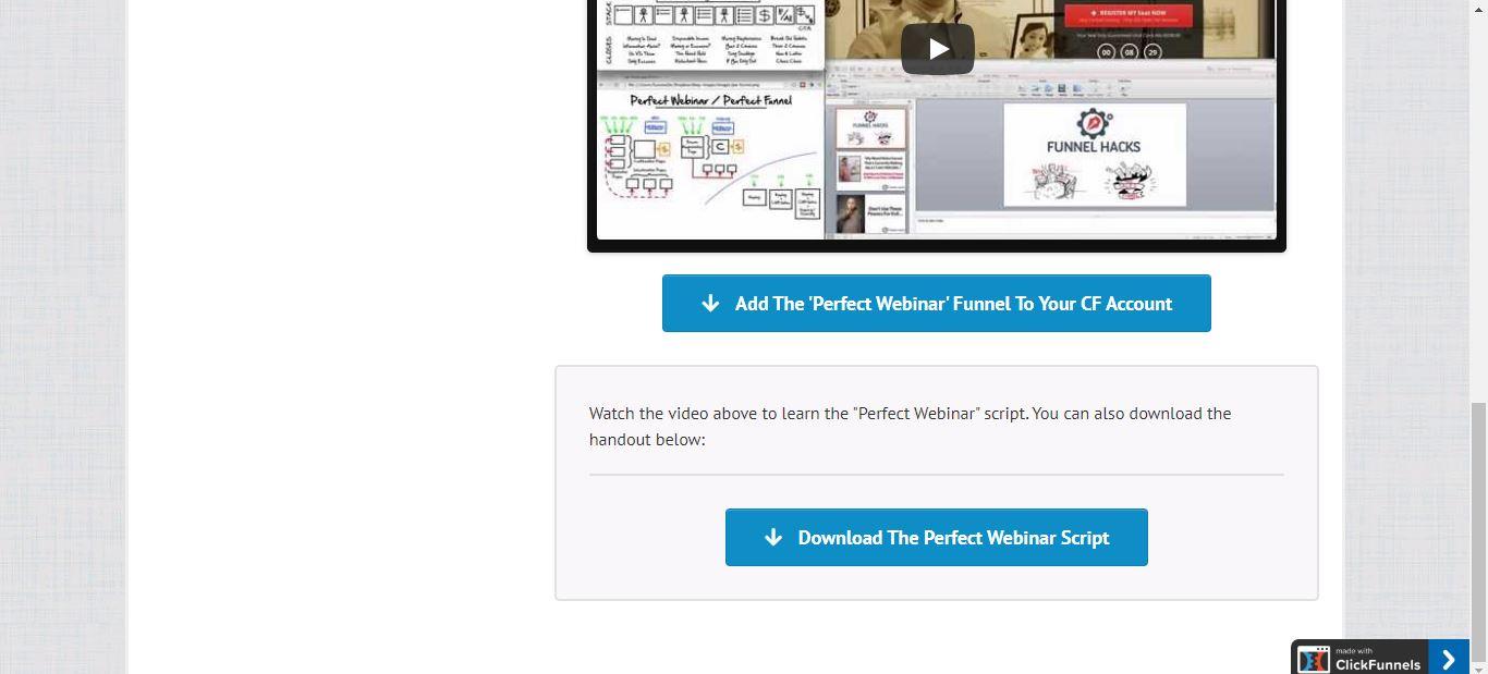 download perfect webinar script