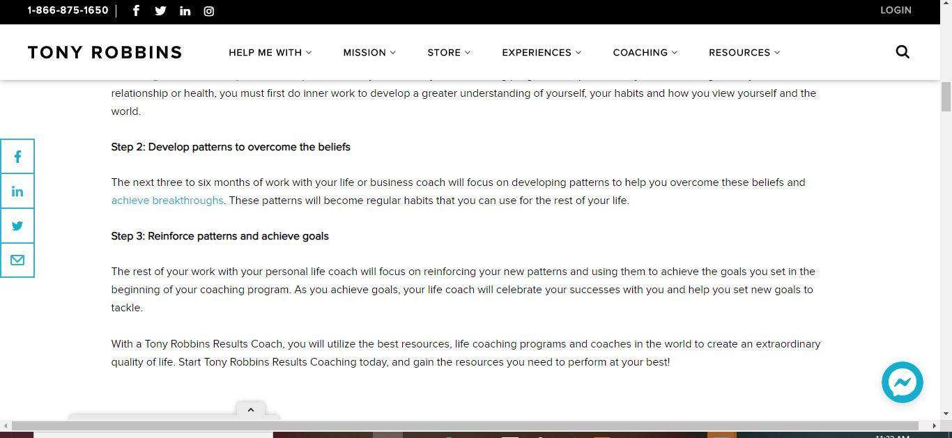 tony coaching works
