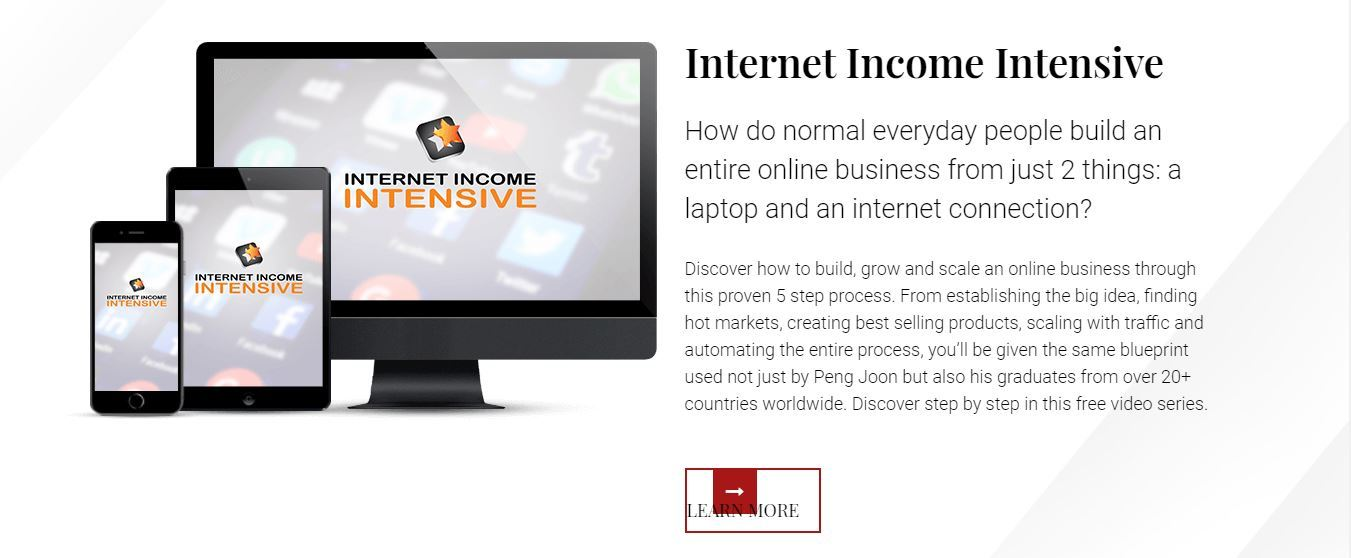 peng joon internet income intensive