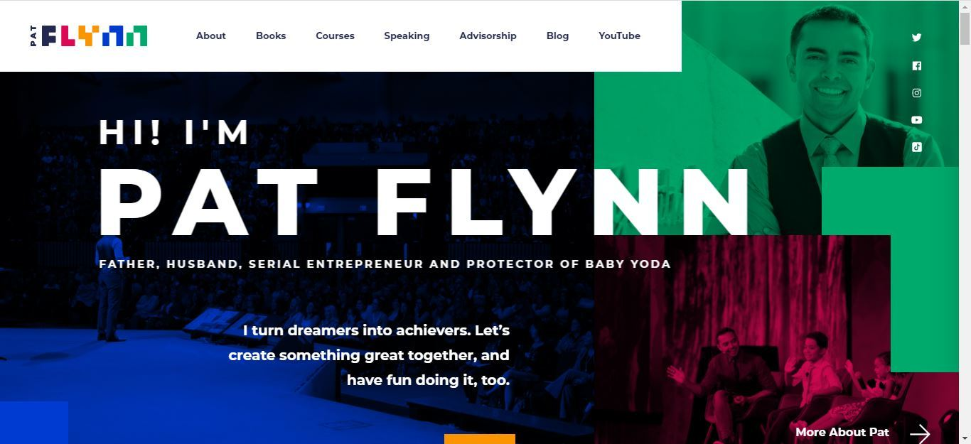 pat flynn home page