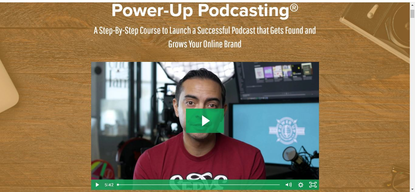 pat flynn power up podcasting course
