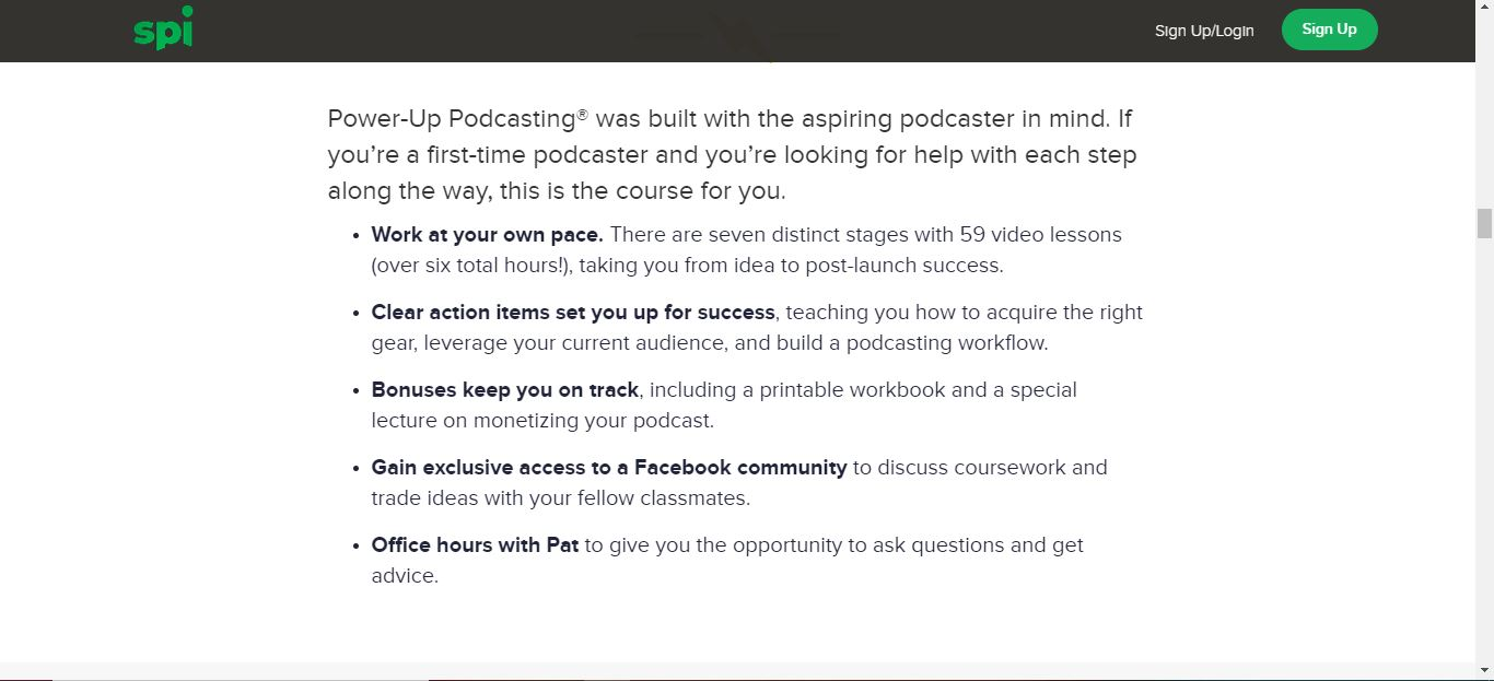 power up podcast info