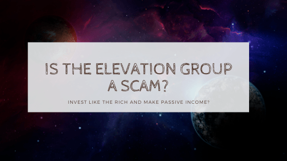 is the elevation group a scam