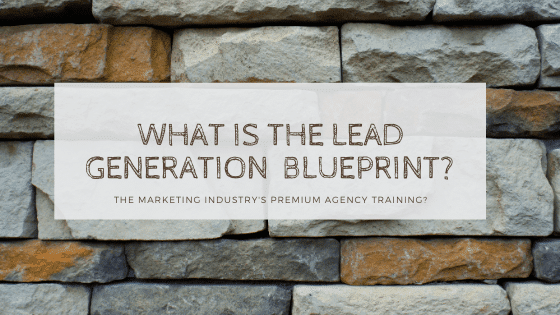 what is the lead generation blueprint