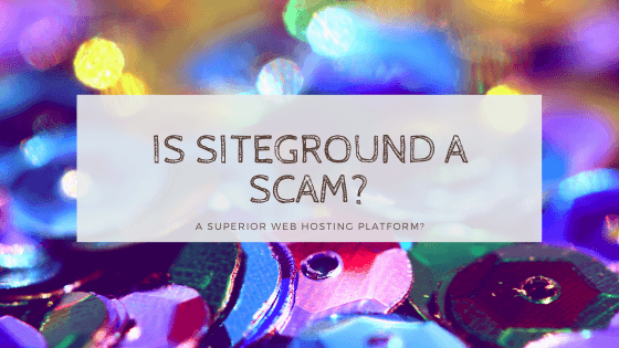 is siteground a scam