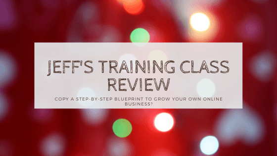 jeff's training class review