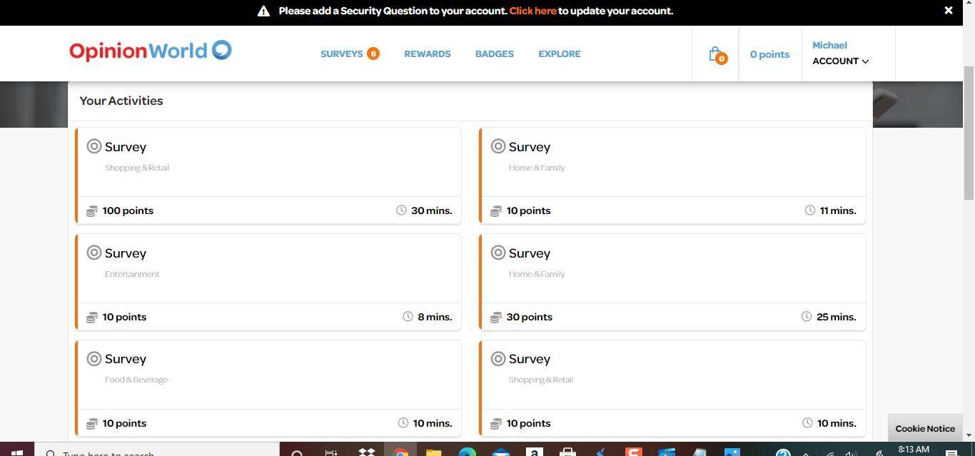 opinion world survey time