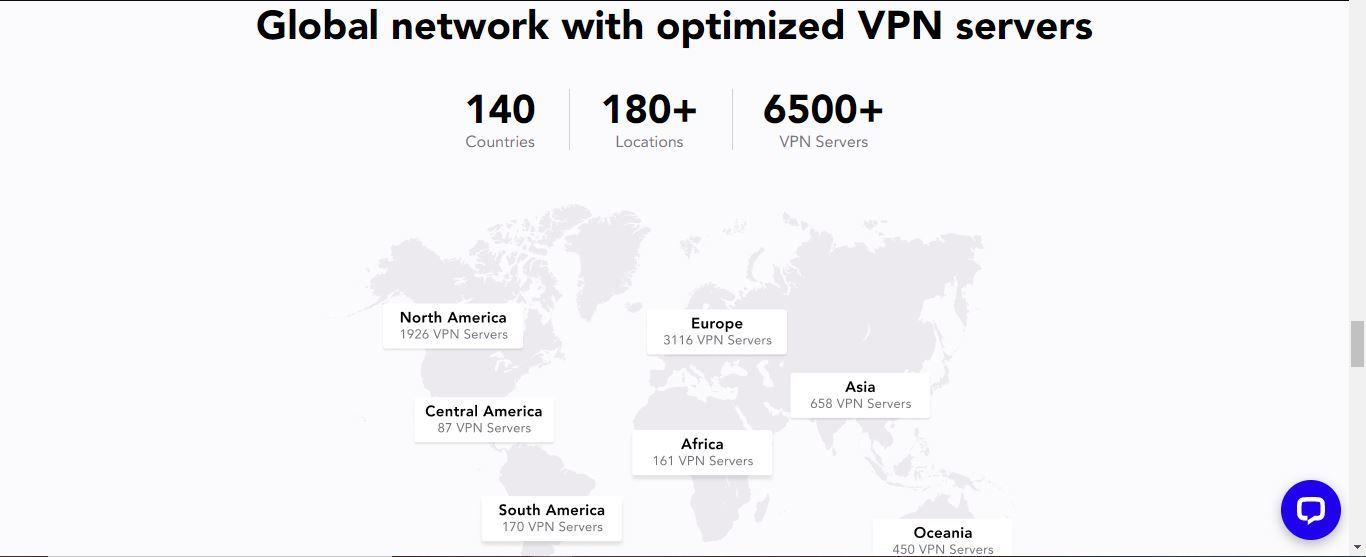 purevpn global network