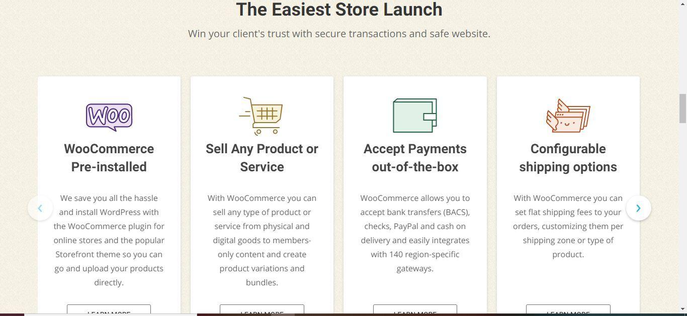 siteground woocommerce store