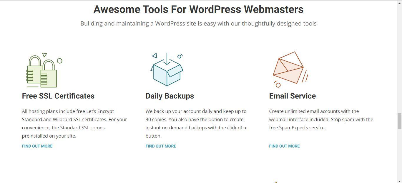siteground wordpress webmaster tools