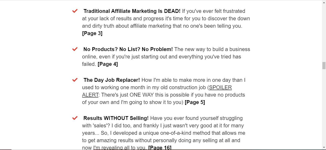the affiliate marketers playbook look inside