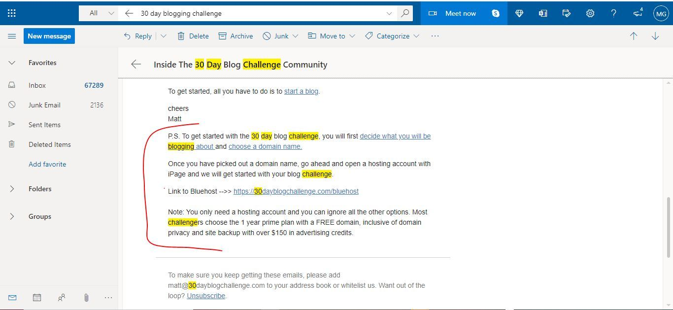 30 day blog pay