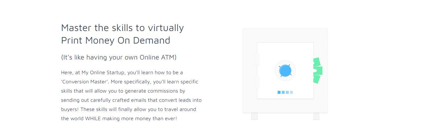 my online startup skills