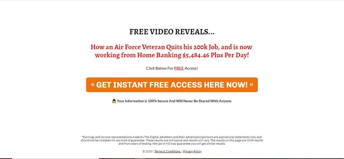 digital veteran blueprint home page